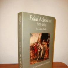 Libros de segunda mano: MANUAL DE HISTORIA DE ESPAÑA, 3. EDAD MODERNA (1474-1808) - PERE MOLAS RIBALTA - EXCELENTE ESTADO. Lote 183562026