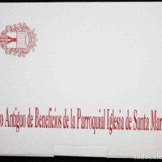 Libros de segunda mano: LIBRO ANTIGUO DE BENEFICIOS DE LA PARROQUIAL IGLESIA DE SANTA MARÍA - ALICANTE, 1997. Lote 183569475