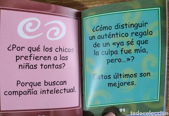 Libros de segunda mano: Libro - Minichistes solo para chicas (2001) Libsa - Foto 3 - 183571901