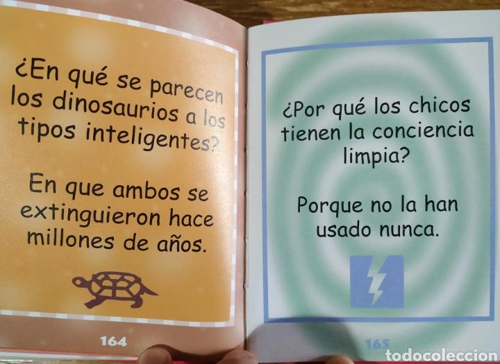 Libros de segunda mano: Libro - Minichistes solo para chicas (2001) Libsa - Foto 4 - 183571901