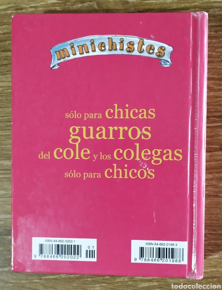 Libros de segunda mano: Libro - Minichistes solo para chicas (2001) Libsa - Foto 5 - 183571901