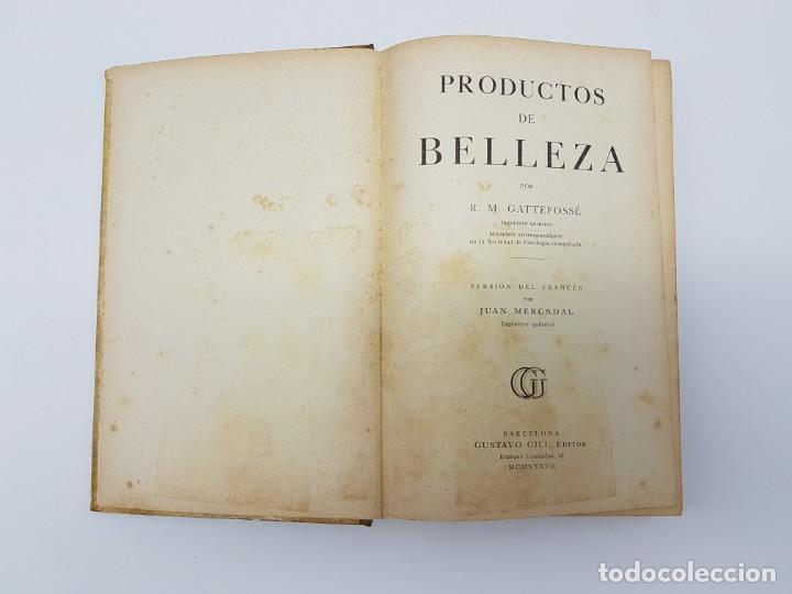 Libros de segunda mano: ELABORACIÓN DE PRODUCTOS DE BELLEZA ( GUSTAVO GILI ) 1937 - Foto 4 - 183584638