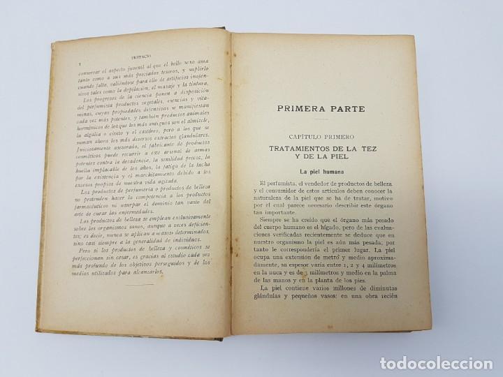 Libros de segunda mano: ELABORACIÓN DE PRODUCTOS DE BELLEZA ( GUSTAVO GILI ) 1937 - Foto 5 - 183584638