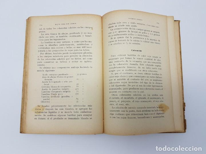 Libros de segunda mano: ELABORACIÓN DE PRODUCTOS DE BELLEZA ( GUSTAVO GILI ) 1937 - Foto 8 - 183584638