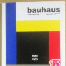 Libros de segunda mano: MAGDALENA DROSTE, BAUHAUS ARCHIV, 191-1933, TASCHEN, 2006,. Lote 183588875