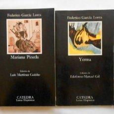 Libros de segunda mano: LOTE 4 LIBROS FEDERICO GARCIA LORCA (YERMA/ LA CASA DE BERNARDA ALBA/ EL PUBLICO/ MARIANA PINEDA). Lote 183595713