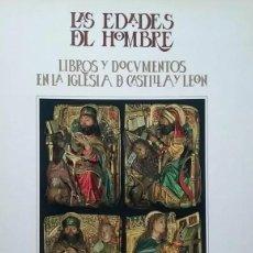 Libros de segunda mano: LIBROS Y DOCUMENTOS EN LA IGLESIA DE CASTILLA Y LEÓN. BURGOS 1990. LAS EDADES DEL HOMBRE. TDK407. Lote 183624771