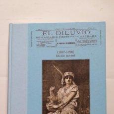 Libros de segunda mano: EL DILUVIO SEMANARIO FESTIVO ILUSTRADO 1897-1898 FACSIMIL LA RIOJA. TDK407. Lote 183624897