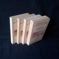 Libros de segunda mano: DON CECILIO GARCIA DE LA LEÑA - CONVERSACIONES HISTORICAS MALAGUEÑAS 4 TOMOS - EDICION FACSIMIL 1981. Lote 183632168