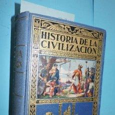 Libros de segunda mano: HISTORIA DE LA CIVILIZACIÓN. HERRERO MIGUEL, A. COL. BIBLIOTECA HISPANIA. ED. RAMÓN SOPENA. BARCELON. Lote 183637257