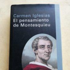 Libros de segunda mano: EL PENSAMIENTO DE MONTESQUIEU - CÍRCULO DE LECTORES. Lote 183656103