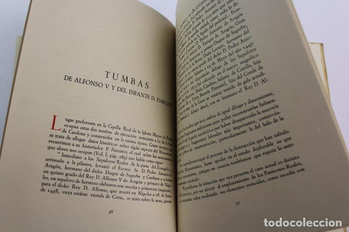 Libros de segunda mano: L-2047. PROYECTO DE OBRAS EN LA IGLESIA DE STA. MARIA DE POBLET PARA EL TRASLADO. 1944 - Foto 5 - 183698246