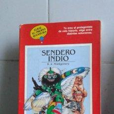 Libros de segunda mano: ELIGE TU PROPIA AVENTURA, SENDERO INDIO, TIMUN MAS. Lote 183707313
