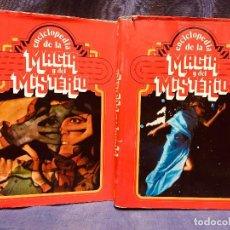 Libros de segunda mano: ENCICLOPEDIA DE LA MAGIA Y EL MISTERIO TOMO 1 Y 2. Lote 183716276