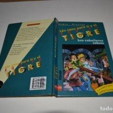 Libros de segunda mano: EQUIPO TIGRE Nº 4 , LOS CABALLEROS ROBOTS , THOMAS BREZINA , SM , CON SOBRE DE EQUIPO. Lote 183740253