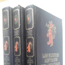 Libros de segunda mano: LOS GRANDES ENIGMAS DEL OCULTISMO Y DE LAS SOCIEDADES SECRETAS. (3 TOMOS) . Lote 183743027