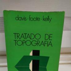 Libros de segunda mano: TRATADO DE TOPOGRAFIA DAVIS-FOOTE-KELLY. Lote 183746855