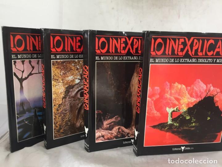 LO INEXPLICADO. 4 VOLUMENES. DEL 1 AL 4. EDITORIAL DELTA. 1982 (Libros de Segunda Mano - Parapsicología y Esoterismo - Otros)