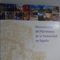 Livres d'occasion: MONUMENTOS DEL PATRIMONIO DE LA HUMANIDAD EN ESPAÑA. BBVA. Lote 183783667