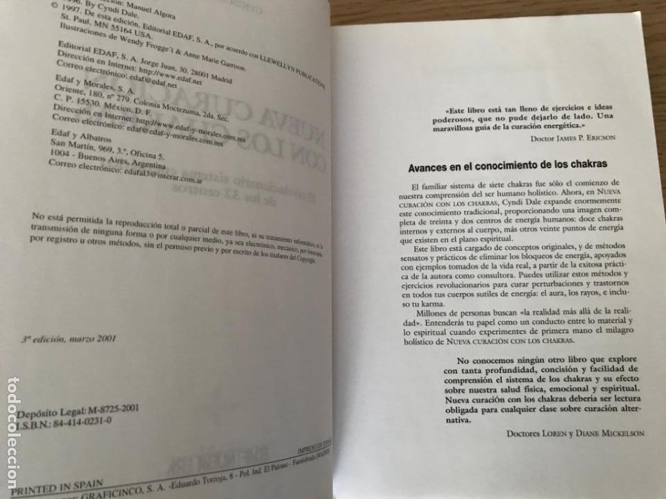 Libros de segunda mano: Nueva curación con los chakras. El revolucionario sistema energético de los 32 centros - Cyndi Dale - Foto 2 - 183791490