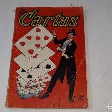 Livros em segunda mão: ANTIGUO LIBRO DE MAGIA - LAS CARTAS - EDOITORIAL ALAS Nº 13 - AÑO 1936 ILUSTRADO. Lote 183793231