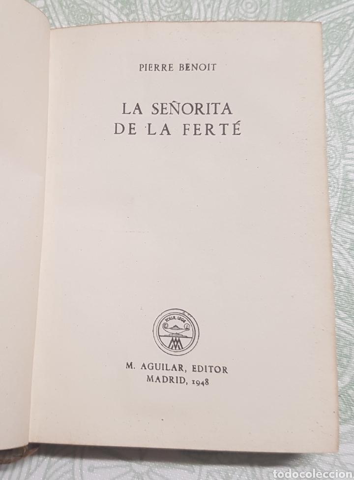 Libros de segunda mano: Coleccion Crisol La Señorita de la Ferté Núm. 224 año 1948 - Foto 2 - 183843402