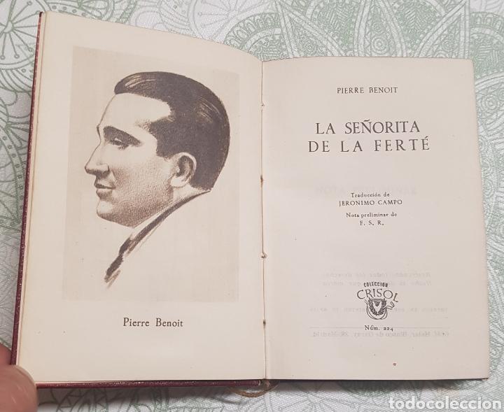 COLECCION CRISOL LA SEÑORITA DE LA FERTÉ NÚM. 224 AÑO 1948 (Libros de Segunda Mano (posteriores a 1936) - Literatura - Otros)