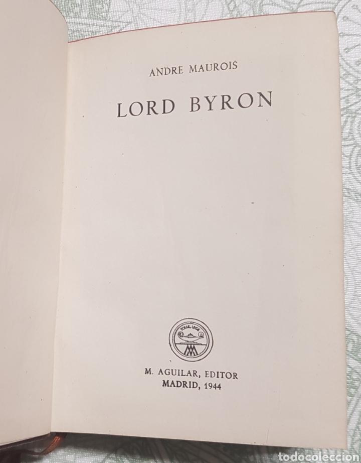 Libros de segunda mano: Coleccion Cristol Lord Byron Núm.11 año 1944 - Foto 2 - 183843672