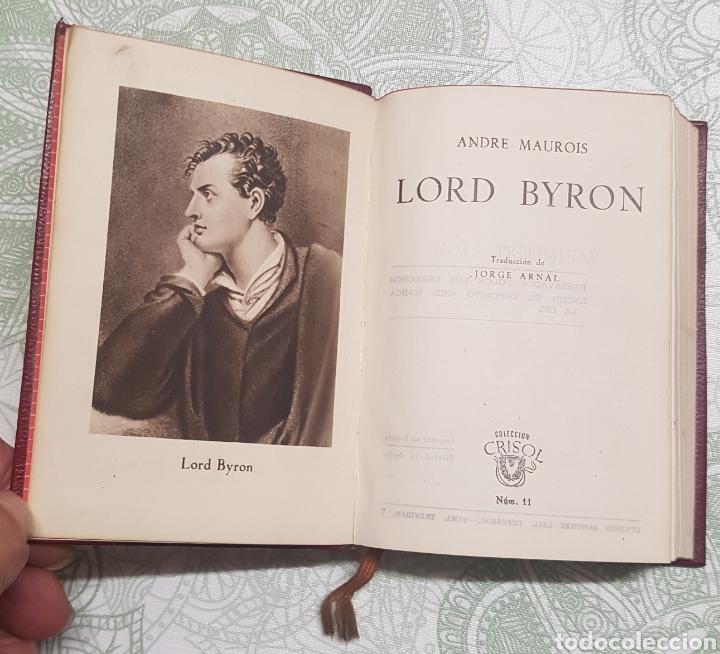 COLECCION CRISTOL LORD BYRON NÚM.11 AÑO 1944 (Libros de Segunda Mano (posteriores a 1936) - Literatura - Otros)
