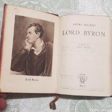 Libros de segunda mano: COLECCION CRISTOL LORD BYRON NÚM.11 AÑO 1944. Lote 183843672