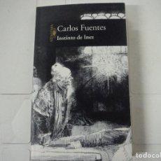 Libros de segunda mano: CARLOS FUENTES INSTINTO DE INEZ ALFAGUARA. Lote 183844085
