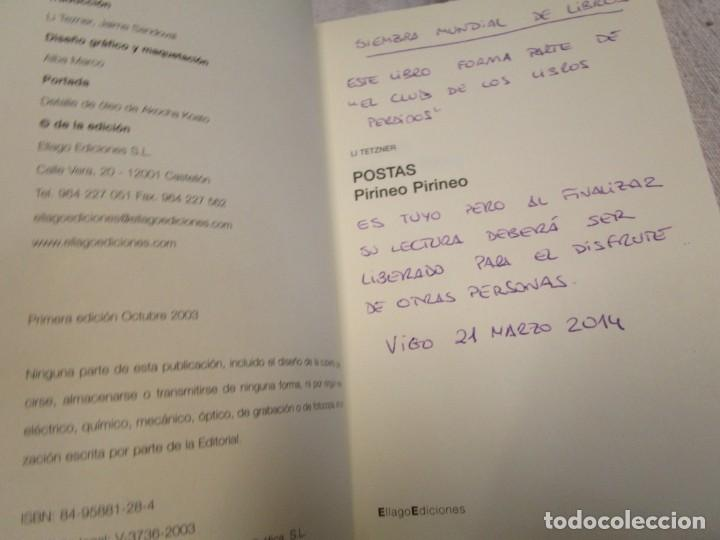 Libros de segunda mano: POSTAS PIRINEO PIRINEO - LI TEZNER - ELLAGO EDICIONES 2003 137 PAG COMO NUEVO, CORREO ORDINARIO 2.4€ - Foto 2 - 183852681