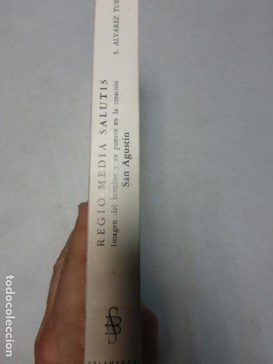 Libros de segunda mano: Regio Media Salutis. Imagen del hombre y su puesto en la creación. San Agustín. Saturnino alvarez - Foto 3 - 183861181