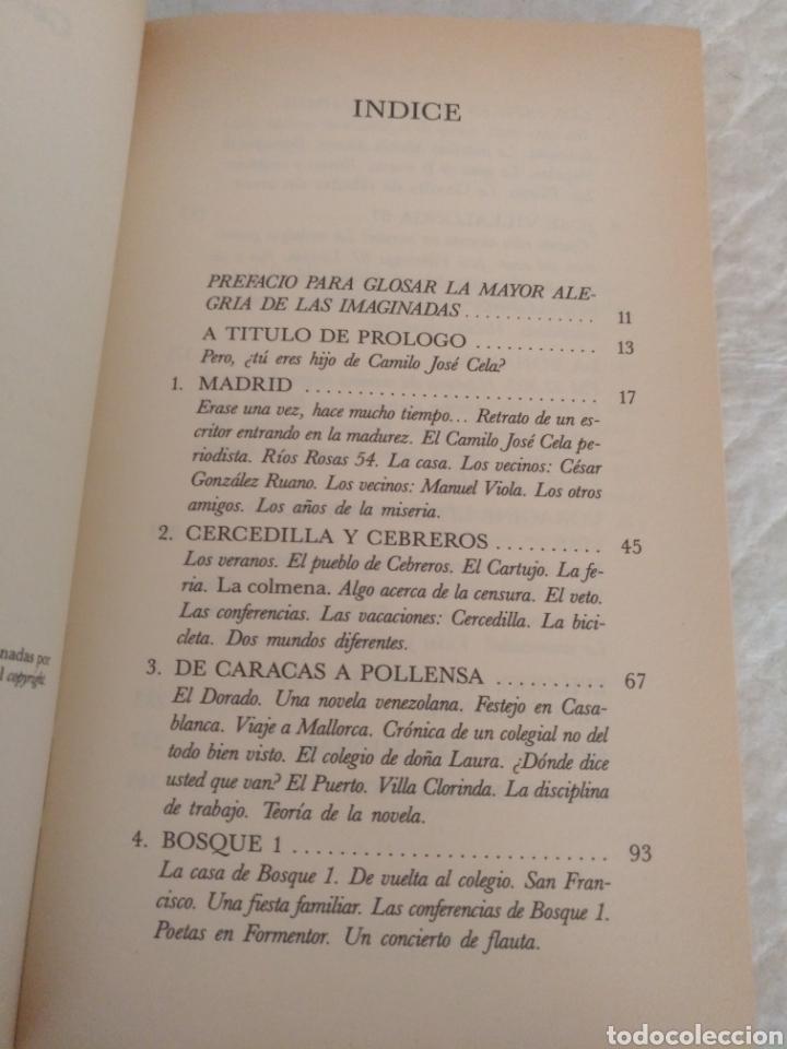 Libros de segunda mano: Cela mi padre. Camilo Jose Cela Conde. Colección Hombres de Hoy, 11. Libro - Foto 2 - 183862092