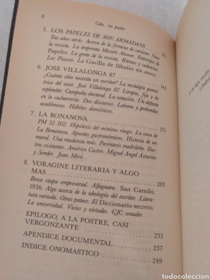 Libros de segunda mano: Cela mi padre. Camilo Jose Cela Conde. Colección Hombres de Hoy, 11. Libro - Foto 3 - 183862092