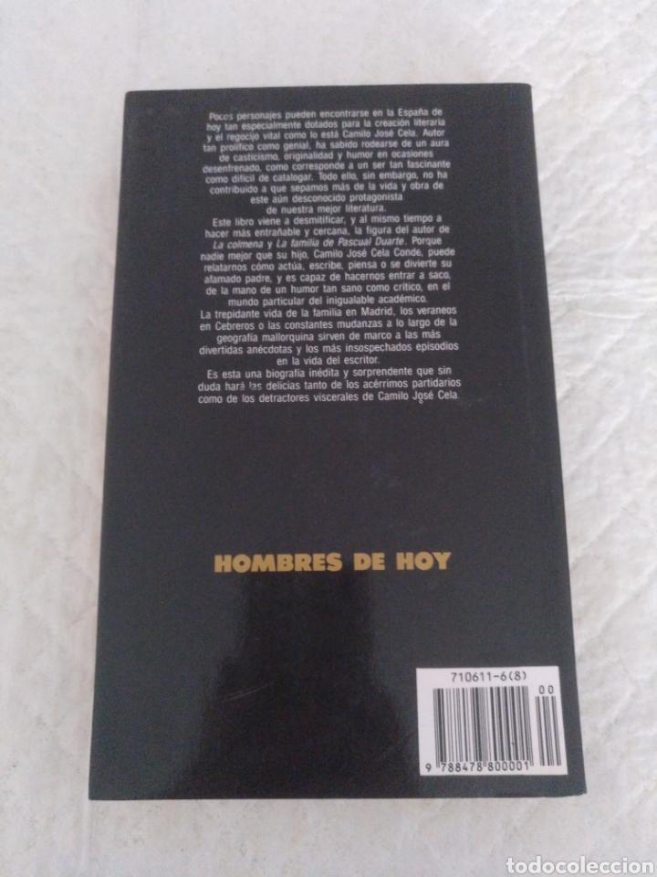 Libros de segunda mano: Cela mi padre. Camilo Jose Cela Conde. Colección Hombres de Hoy, 11. Libro - Foto 6 - 183862092