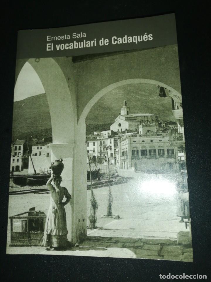 ERNEST SALA, EL VOCABULARI DE CADAQUÉS (Libros de Segunda Mano - Pensamiento - Otros)
