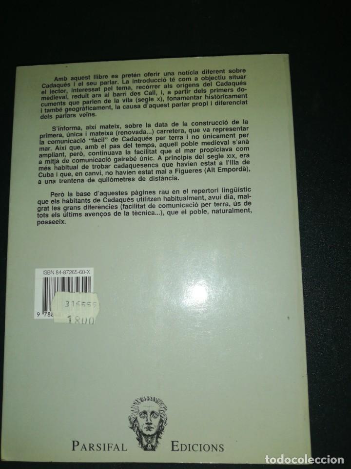 Libros de segunda mano: Ernest sala, el vocabulari de cadaqués - Foto 2 - 183868520