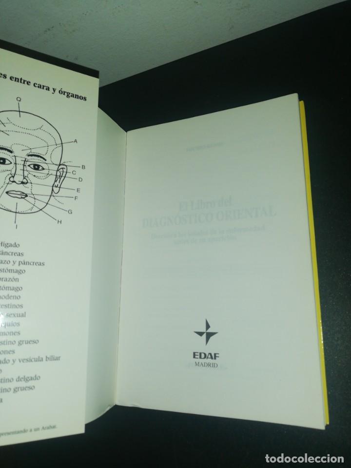Libros de segunda mano: El libro diagnóstico oriental Michio Kushi - Foto 4 - 183868685