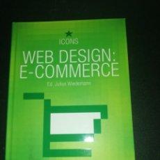 Libros de segunda mano: ED. JULIUS WIEDEMANN, WEB DESIGN E-COMMERCE. Lote 183869775