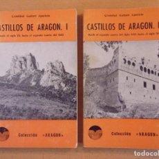 Libros de segunda mano: CASTILLOS DE ARAGÓN / CRISTÓBAL GUITART APARICIO / 1976. COLECCIÓN ARAGON. Lote 183876317