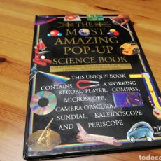 Libros de segunda mano: THE MOST AMAZING POP-UP SCIENCE BOOK.LIBRO INTERACTIVO TRIDIMENSIONAL.IDIOMA INGLÉS.CURIOSO. Lote 183903732