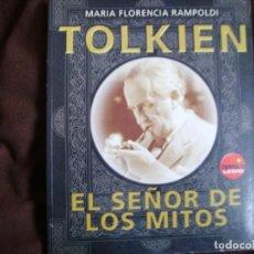 Libros de segunda mano: TOLKIEN. EL SEÑOR DE LOS MITOS. Lote 183912371