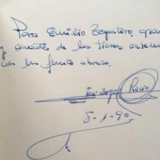 Libros de segunda mano: PALENCIA Y SUS CASTILLOS - DEDICATORIA AUTÓGRAFA - J. ÁNGEL RECIO DÍEZ - FOTOGRAFÍAS. Lote 183931558