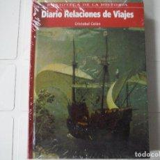 Libros de segunda mano: DIARIO RELACIONES DE VIAJES CRISTOBAL COLON BIBLIOTECA DE LA HISTORIA. Lote 183931933