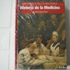 Libros de segunda mano: HISTORIA DE LA MEDICINA JOSE MARIA LOPEZ PIÑERO BIBLIOTECA DE LA HISTORIA. Lote 183932877