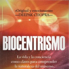 Libros de segunda mano: BIOCENTRISMO, ROBERT LANZA Y BOB BERMAN. Lote 183950298