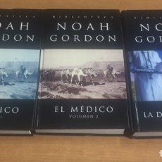 Libros de segunda mano: NOAH GORDON EL MÉDICO 1,2. LA DOCTORA COLE. Lote 183960792