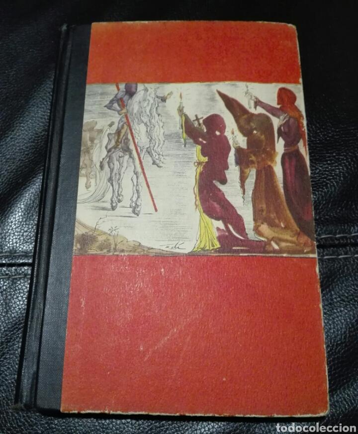 Libros de segunda mano: Miguel de Cervantes. DON QUIJOTE. Ilustrado por Salvador Dalí. 1946. Primera edición Modern Library - Foto 2 - 183961655