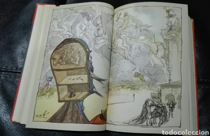 Libros de segunda mano: Miguel de Cervantes. DON QUIJOTE. Ilustrado por Salvador Dalí. 1946. Primera edición Modern Library - Foto 4 - 183961655